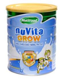 Sữa bột Nutifood NuVita Grow - hộp 900g (dành cho trẻ từ 3 tuổi trở lên)