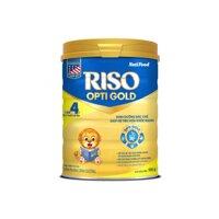 Sữa bột Nutifood Riso Opti Gold 4 - Hộp 900g (Cho bé trên 2 tuổi)