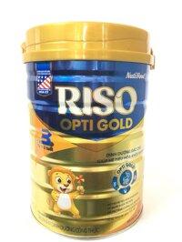 Sữa bột Nutifood Riso Opti Gold 3 - Hộp 900g (Cho bé từ 1-2 tuổi)