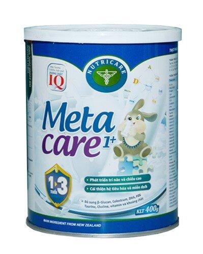 Sữa bột Nutricare Metacare 1+ - hộp 400g (dành cho trẻ từ 1 - 3 tuổi)