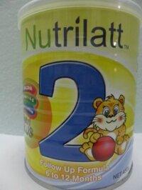 Sữa bột Nutrilatt 2 - hộp 900g