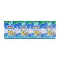 Sữa bột pha sẵn hương vani Nuvita Grow NutiFood lốc 4 hộp x 110ml