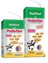 Sữa bột pha sẵn Nuti Pedia Plus - 180 ml (Thùng 48 hộp)