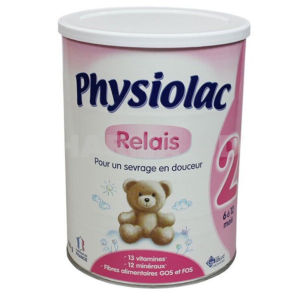 Sữa bột Physiolac 2ER - hộp 900g (dành cho trẻ từ 6-12 tháng)