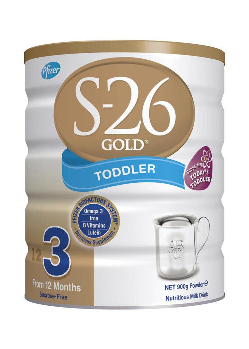 Sữa bột S-26 Gold Newborn 1 - hộp 900g (dành cho trẻ từ 0 - 6 tháng)