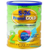 Sữa bột S-26 Promil Gold 2 Singapor - 900g