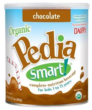 Sữa bột siêu sạch Organic Pedia Smart Chocolate - 360g , vị sô cô la