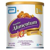 Sữa bột Similac Alimentum - 400g, cho trẻ dị ứng đạm sữa bò