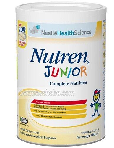 Sữa bột tăng cân Nutren Junior - 800g (1-10 tuổi)