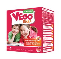 Sữa bột Vego DHA+ - hộp 15 gói (dành cho trẻ từ 3 tuổi trở lên)