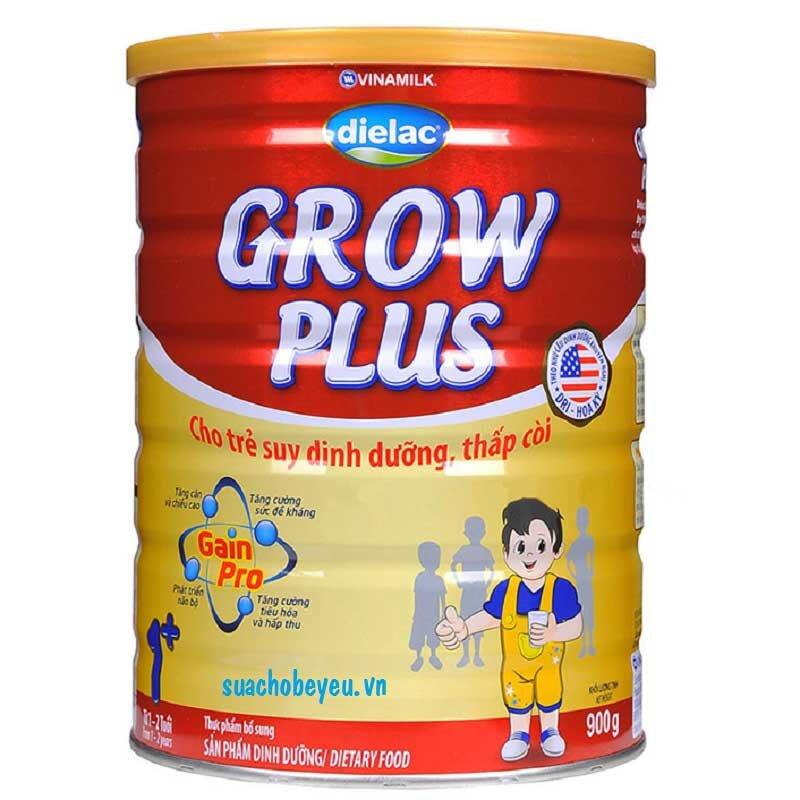 Sữa bột Vinamilk Dielac Grow Plus 1 - hộp 900g (dành cho trẻ 1-2 tuổi)