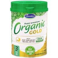Sữa bột Vinamilk Organic Gold số 3 - 850g, dành cho trẻ từ 1-2 tuổi