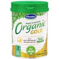 Sữa bột Vinamilk Organic Gold số 1 - 350g, dành cho trẻ từ 0-6 tháng