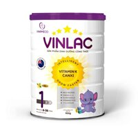 Sữa bột Vinlac số 1 -900g (Dành cho bé 6-36 tháng)