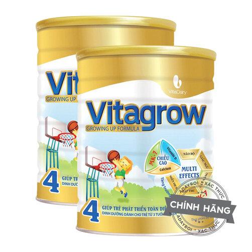 Sữa bột VitaDairy Vitagrow 4 - hộp 900g (dành cho trẻ trên 3 tuổi)