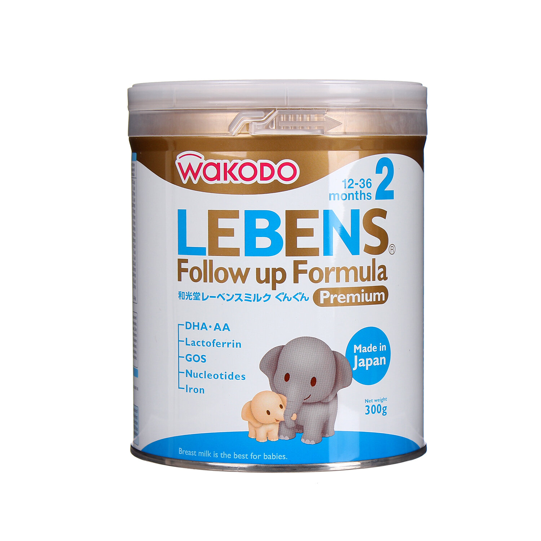 Sữa bột Wakodo Lebens số 2 - hộp 300g (dành cho trẻ từ 1-3 tuổi)