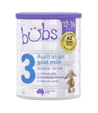Sữa Bubs Organic Số 3 Úc 800g