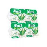 Sữa chua Nuti nha đam 100g lốc 4