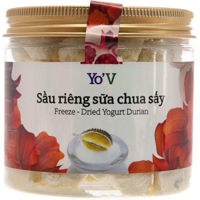 Sữa chua sấy YoV Vinamit sầu riêng – Lon 60g