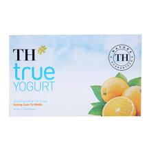 Sữa chua uống tiệt trùng hương cam tự nhiên TH True Yogurt thùng 48 hộp x 180ml