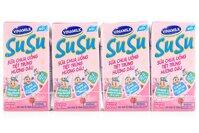 Sữa chua uống vị dâu Susu 110ml - Thùng 48 hộp