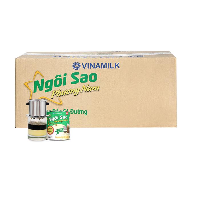 Sữa đặc Ngôi Sao Phương Nam xanh lá – 380g, thùng 48 hộp