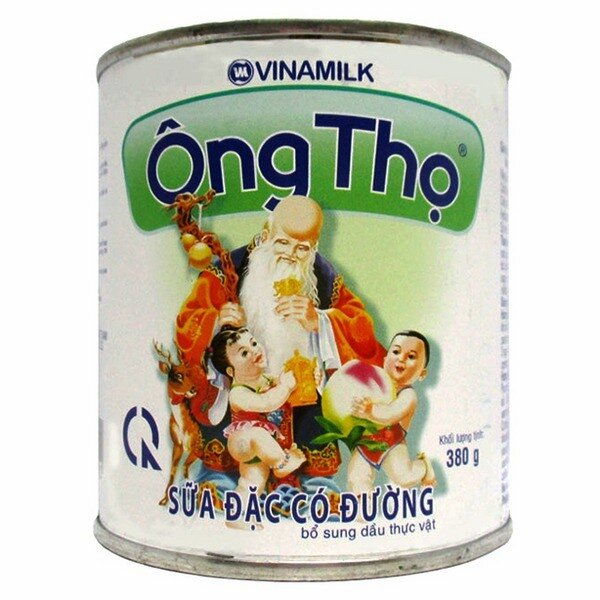 Sữa đặc Ông Thọ chữ xanh 380g
