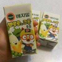 Sữa đậu nành chuối  Vegemil Pororo Hàn Quốc 190ml