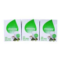 Sữa đậu nành Vinasoy nguyên chất - lốc 6 Hộp x 200ml
