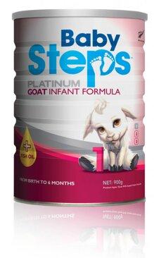 Sữa dê Baby steps số 1 - 400g