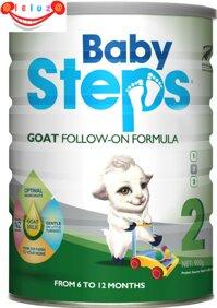 Sữa dê BabySteps số 2 - 900g