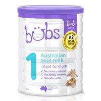 Sữa dê Bubs Úc số 1 800g (0 - 6 tháng)