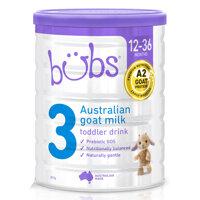 Sữa dê Bubs Úc số 3 800g (1-3 tuổi)