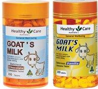 Sữa dê cô đặc Healthy Care Goat Milk, 300 viên