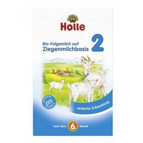 Sữa dê công thức hữu cơ Holle 2 (400g)