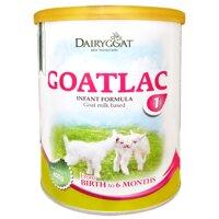 Sữa dê Goatlac 1 - hộp 400g (dành cho trẻ từ 0-6 tháng tuổi)