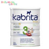 Sữa dê Kabrita 3 - hộp 800g (dành cho trẻ từ 1 - 3 tuổi)