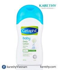 Sữa dưỡng ẩm toàn thân cho bé Cetaphil Baby Daily Lotion 400ml
