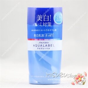 Sữa dưỡng da Shiseido Aqualabel White up Emulsion