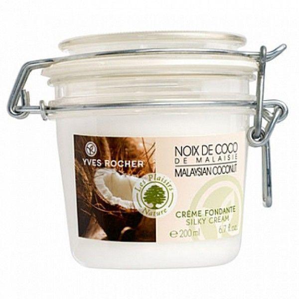 Sữa dưỡng thể hương dừa Yves Rocher Silky Cream Coconut 200ml