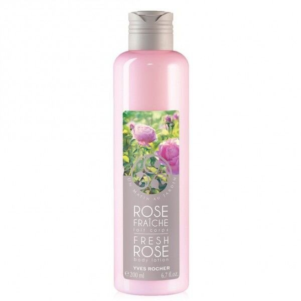 Sữa dưỡng thể hương hoa Hồng Yves Rocher Fresh Rose 200ml