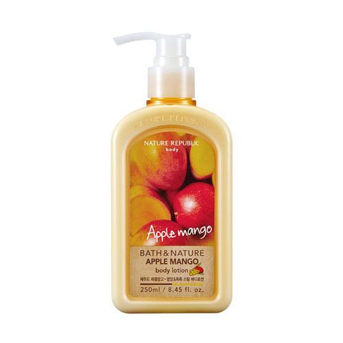 Sữa dưỡng thể Nature Republic Bath & Nature Apple Mango Body Lotion 250ml