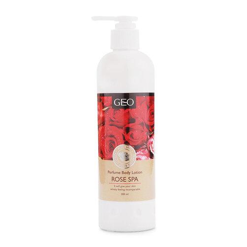 Sữa dưỡng thể trắng da hương hoa hồng Geo Perfume Body Lotion Rose Spa