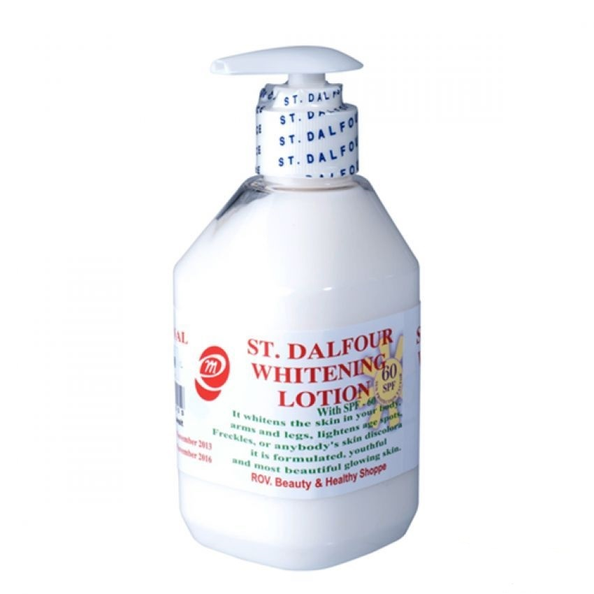 Sữa dưỡng thể trắng da St. Dalfour Whitening Lotion 400ml