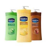 Sữa dưỡng thể Vaseline USA Total Moisture 725ml (nhiều mùi )