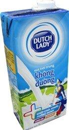 Sữa Dutch Lady Không Đường 1l