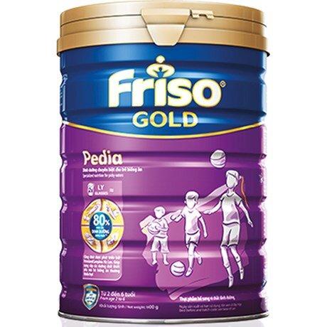 Sữa Friso Gold Pedia - hộp 400g (dành cho bé từ 2 tuổi trở lên)