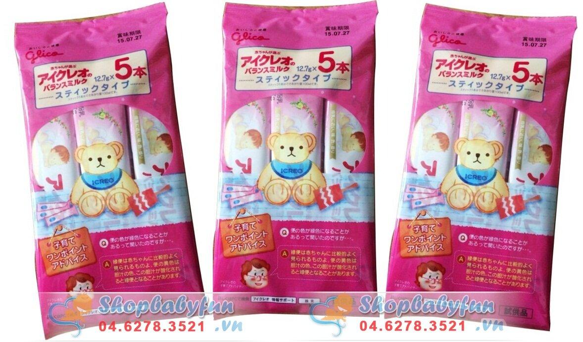 Sữa Glico Icreo số 0 - dạng túi (dành cho trẻ từ 0-9 tháng tuổi)