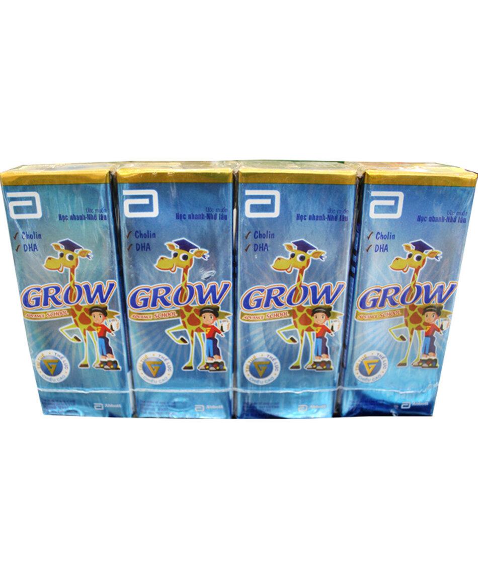 Sữa Grow Advance nước vỉ 4 hộp