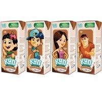 Sữa Kun hương cacao lúa mạch hộp 110ml